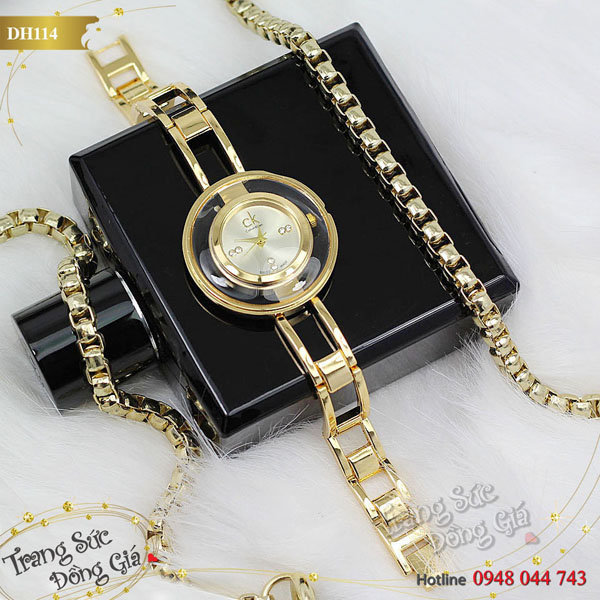 Đồng hồ CK nữ.