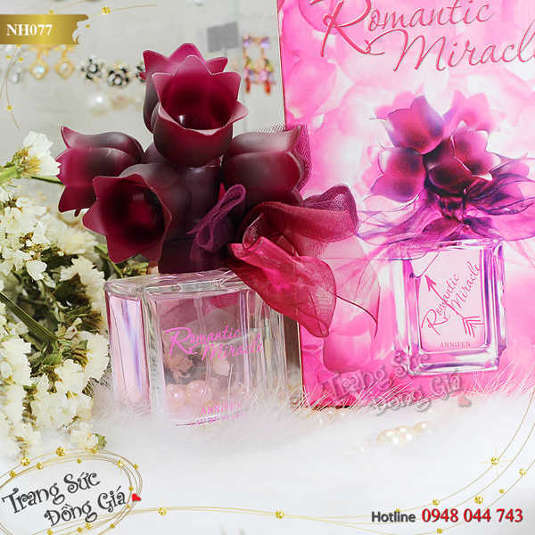 Nước hoa Romantic Miracle for Her
