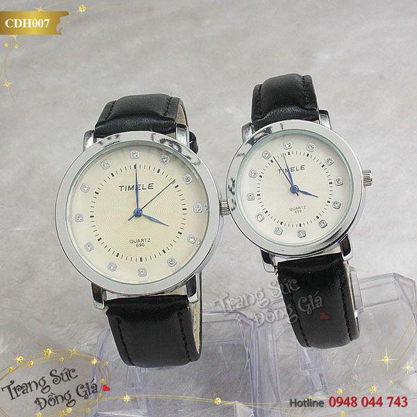 Đồng hồ cặp TIMELE.