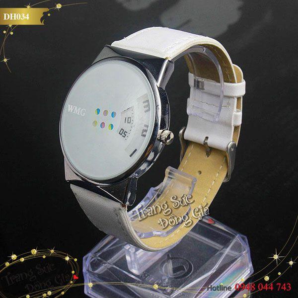 Đồng hồ WMG thời trang nam.