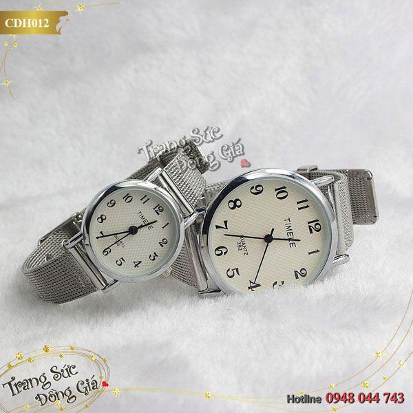 Đồng hồ cặp Timele thời trang xinh xắn.