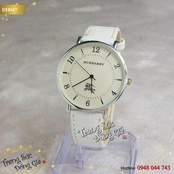Đồng hồ Burberry thời trang nam.