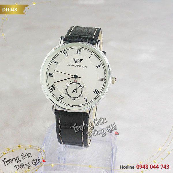 Đồng hồ Armani thời trang nam.