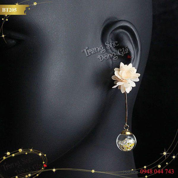 Bông tai Korea thời trang xinh xắn.