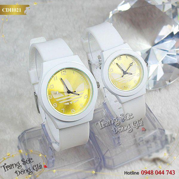 Đồng hồ cặp ADIDAS xinh xắn.
