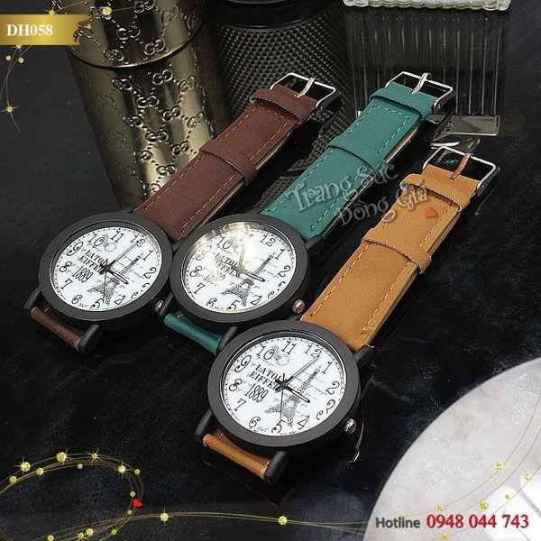 Đồng hồ France thời trang nam.