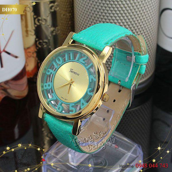 Đồng hồ NERẺVA thời trang nữ.