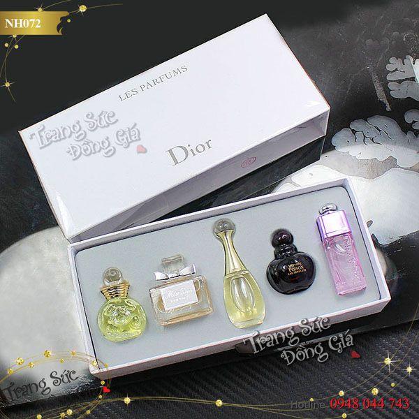 Nước hoa Dior set 5 chai for Her.