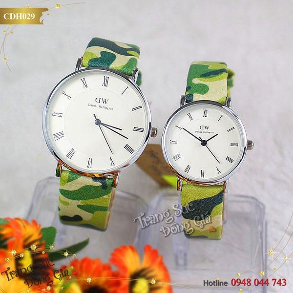 Đồng hồ Daniel Wellington Camo thời trang.