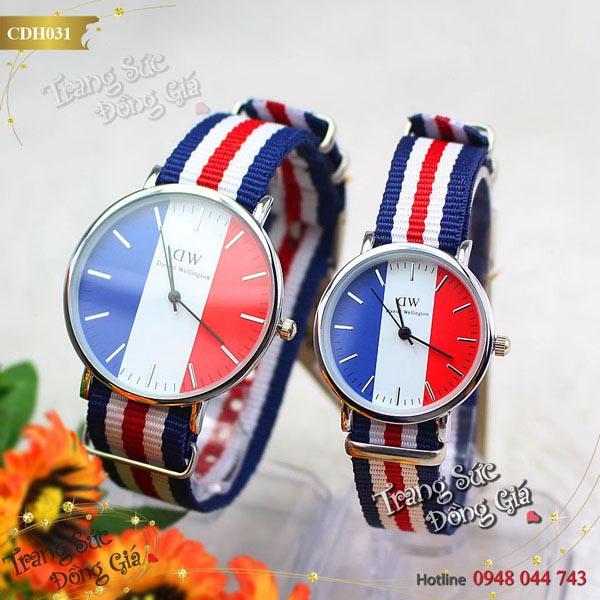 Đồng hồ Daniel Wellington thời trang xinh xắn.