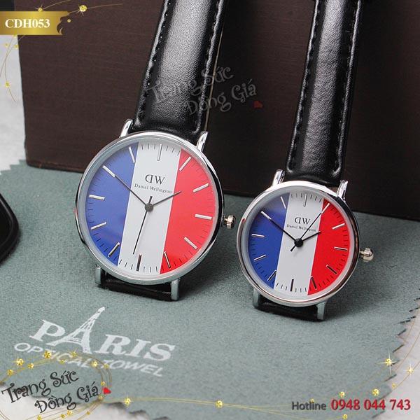 Đồng hồ cặp Daniel Willington xinh xắn.