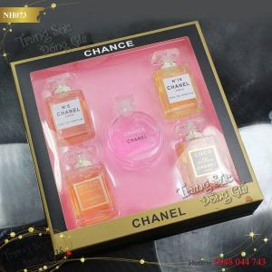Nước hoa Chanel set 5chai for Her.