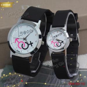 Đồng hồ cặp Boleda LOVE xinh xắn.