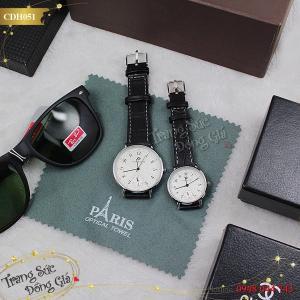 Đồng hồ cặp thời trang xinh xắn.